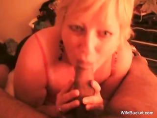 blondie adores cock sucking