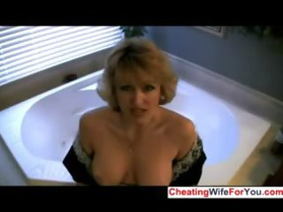 house housewife likes to swallow