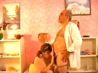 granddad drilling breasty babe by troc