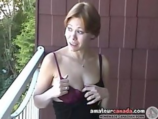 naughty mature lady canadian cassie flashing