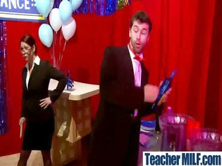 teachers and students are piercing hard vid-11