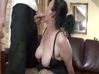 breasty dark black elderly acquires busty amp