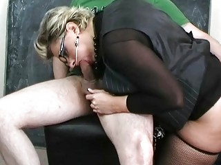 woman slut into wonderful lingerie licking giant