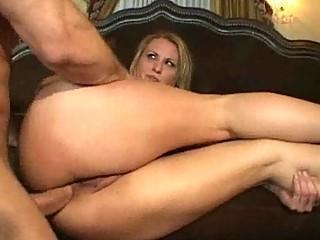 blonde woman gets an butt banging pierce fest
