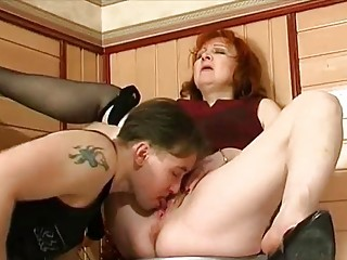 wonderful grown-up hardfucked by busty guy