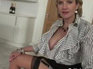 cougar femdom brit going naked